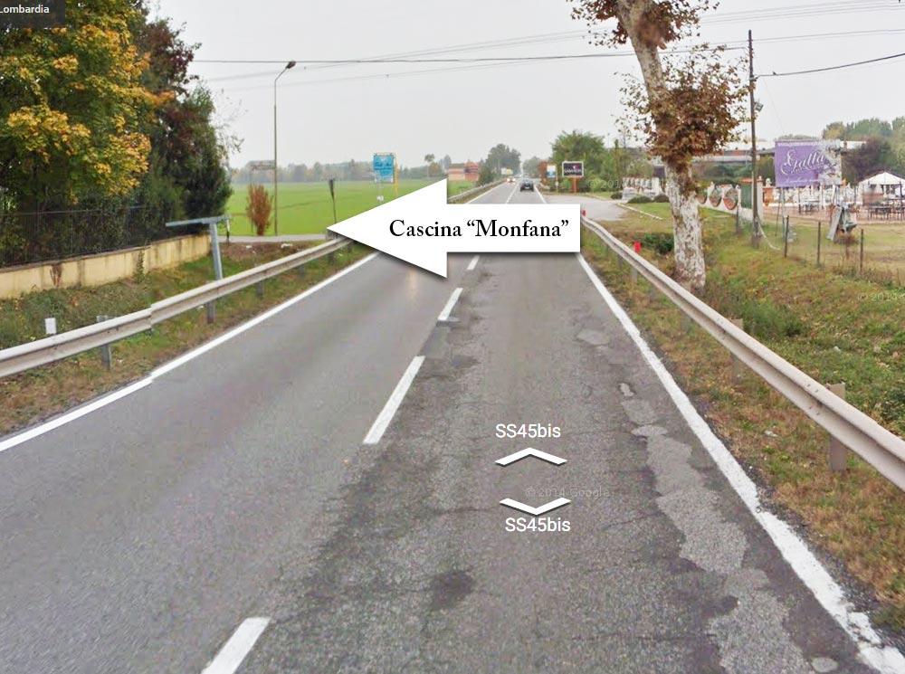 indicazioni da San Zeno Naviglio