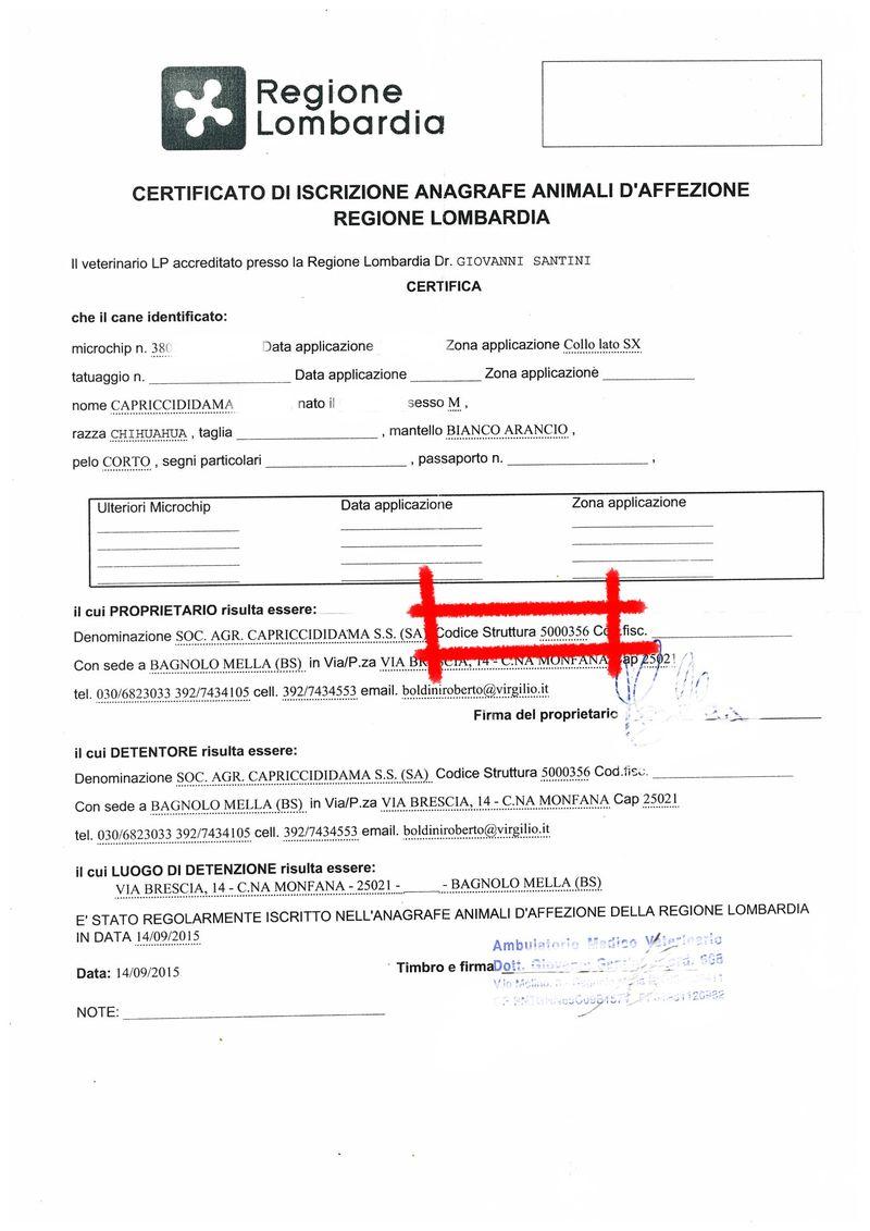 certificato vaccinale lombardia